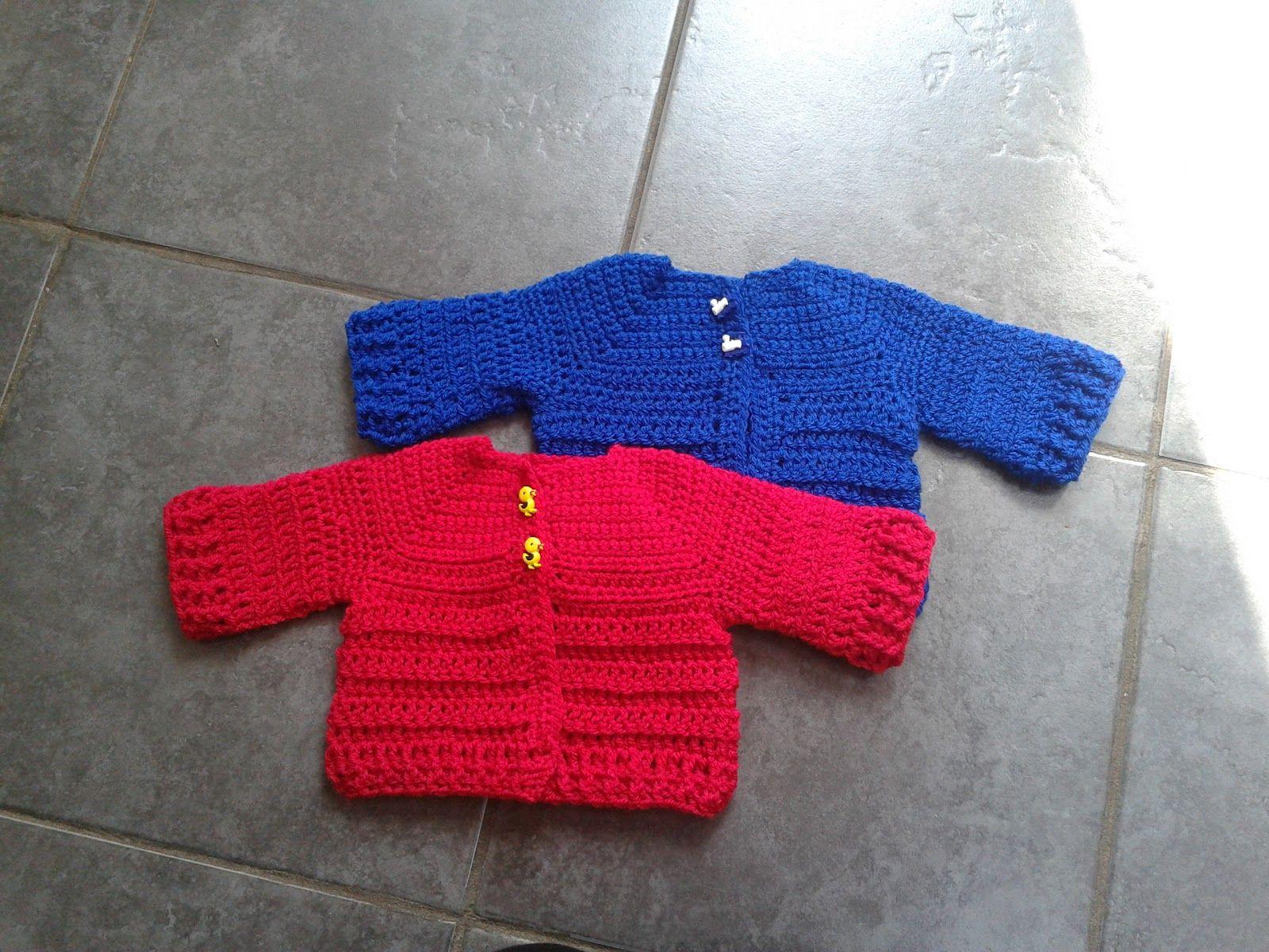 Lolly\'s Crafty Crochet: Free Pattern: Chunky Monkey Cardigan ...