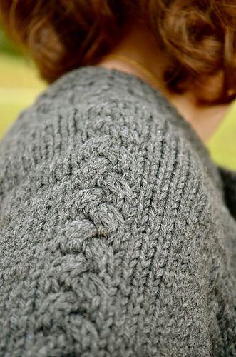 Scarlett's Cardi pattern by Annie Schwier #golasdetrico