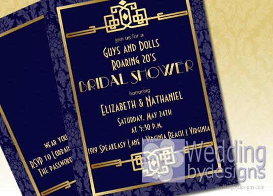 Roaring 20s S Bridal Shower Theme Ideas