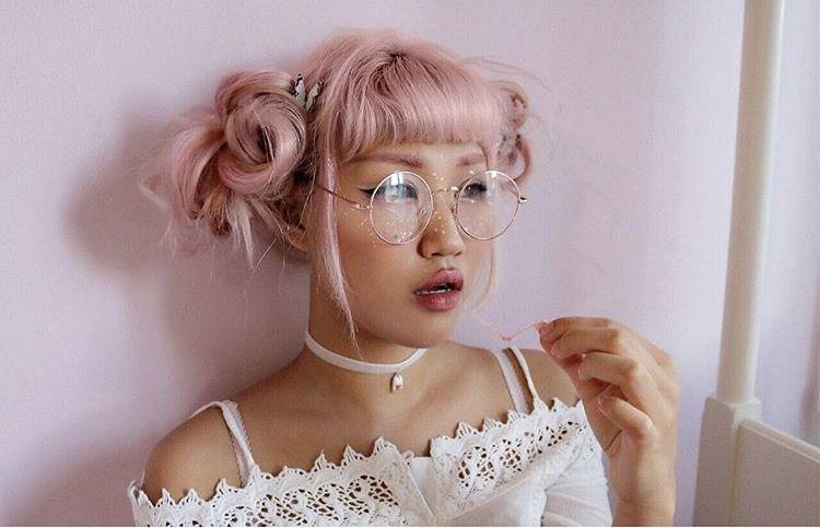 pink girl tumblr aesthetic aes pink Pinterest Pink girl