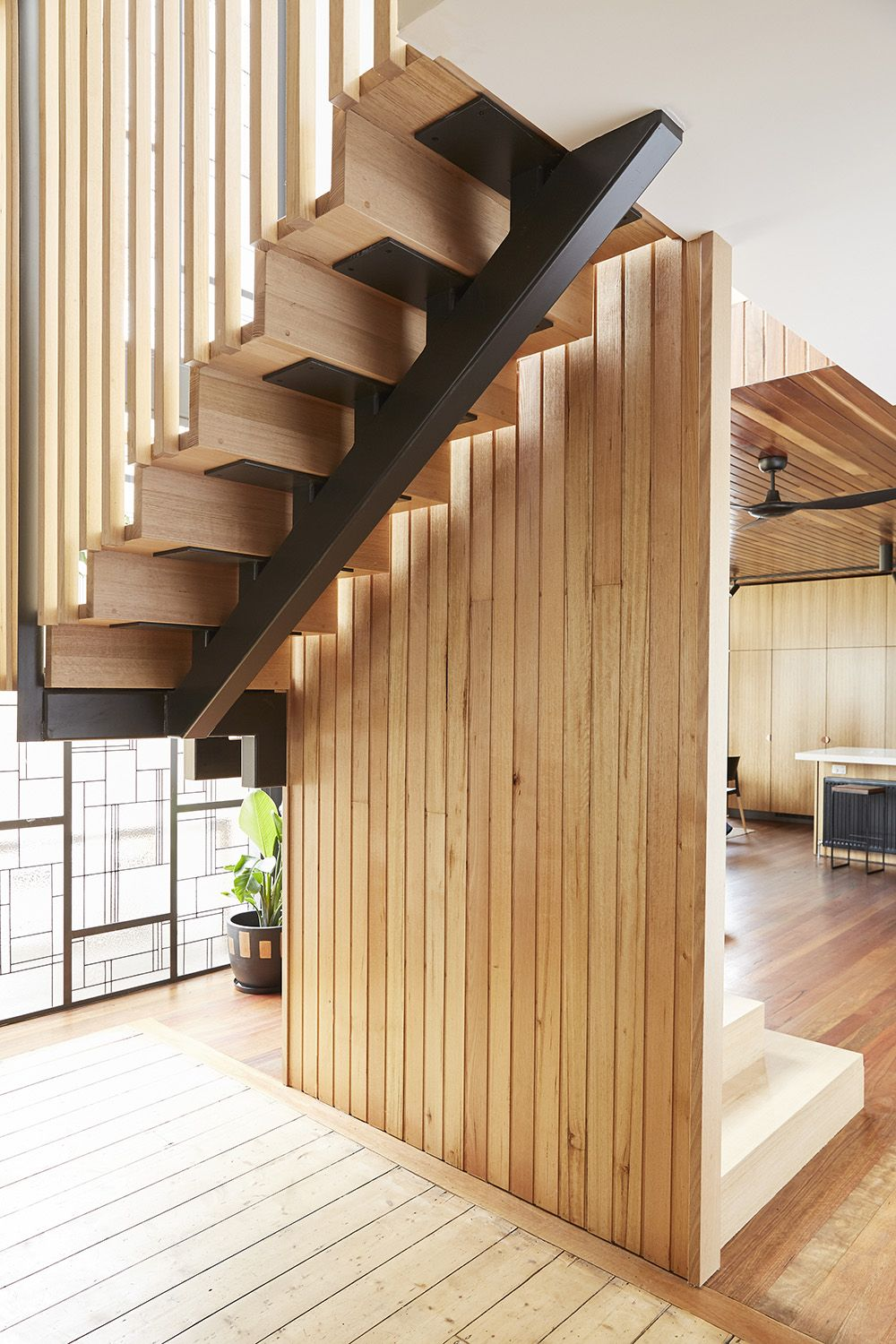 Stairs Victorian Ash Timber Feature Staircase