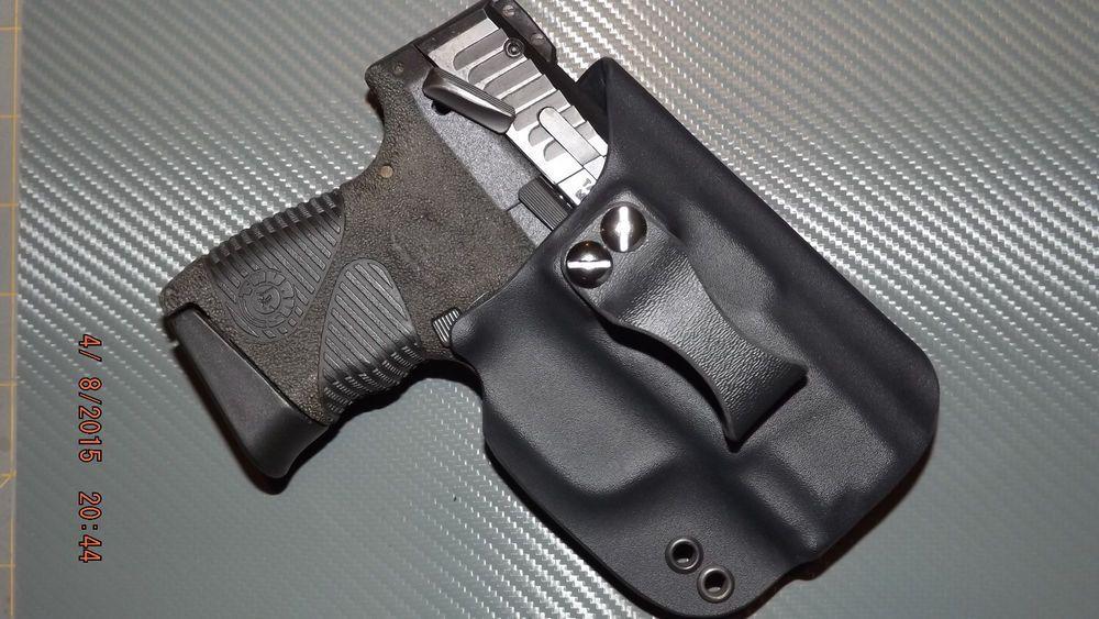 Taurus PT 24/7 G2C Black Kydex Holster (IWB) Right Handed Custom