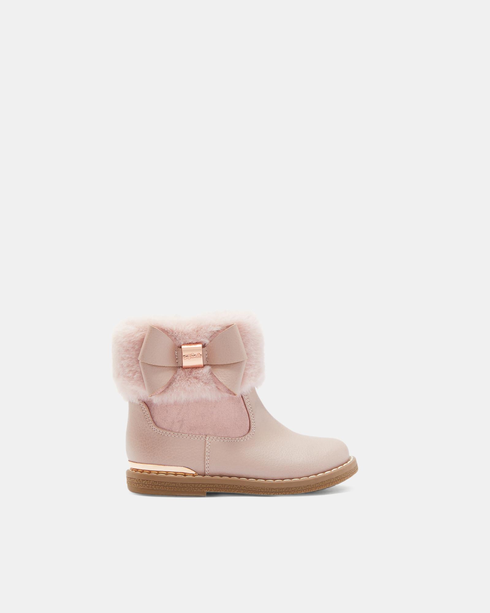CORYIA Faux fur cuff boots #TedToToe