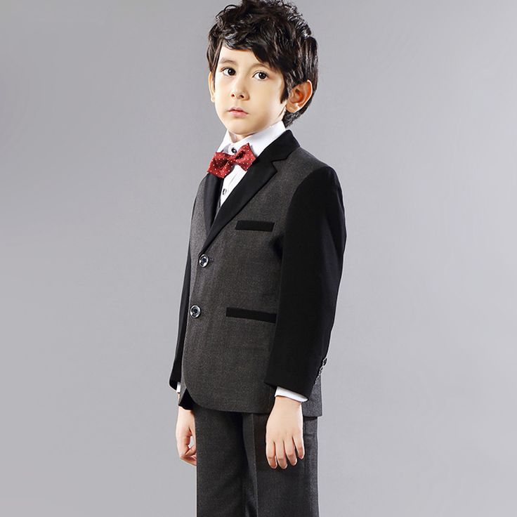 Awesome Prom Dress >> Click to Buy << Kids Clothes Boys Black ...