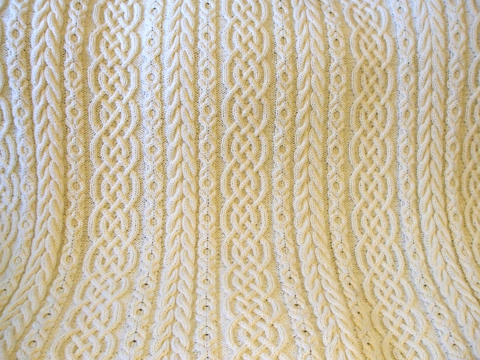 Ravelry: Celtic Aran Afghan by Sharondipity Designs   Knit Wits ...
