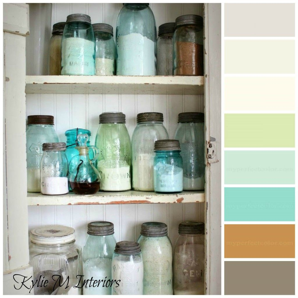 The Best Modern Farmhouse Paint Colours Benjamin Moore Wall Cupboards Shabby Chic Kitchen Vintage Mason Jars