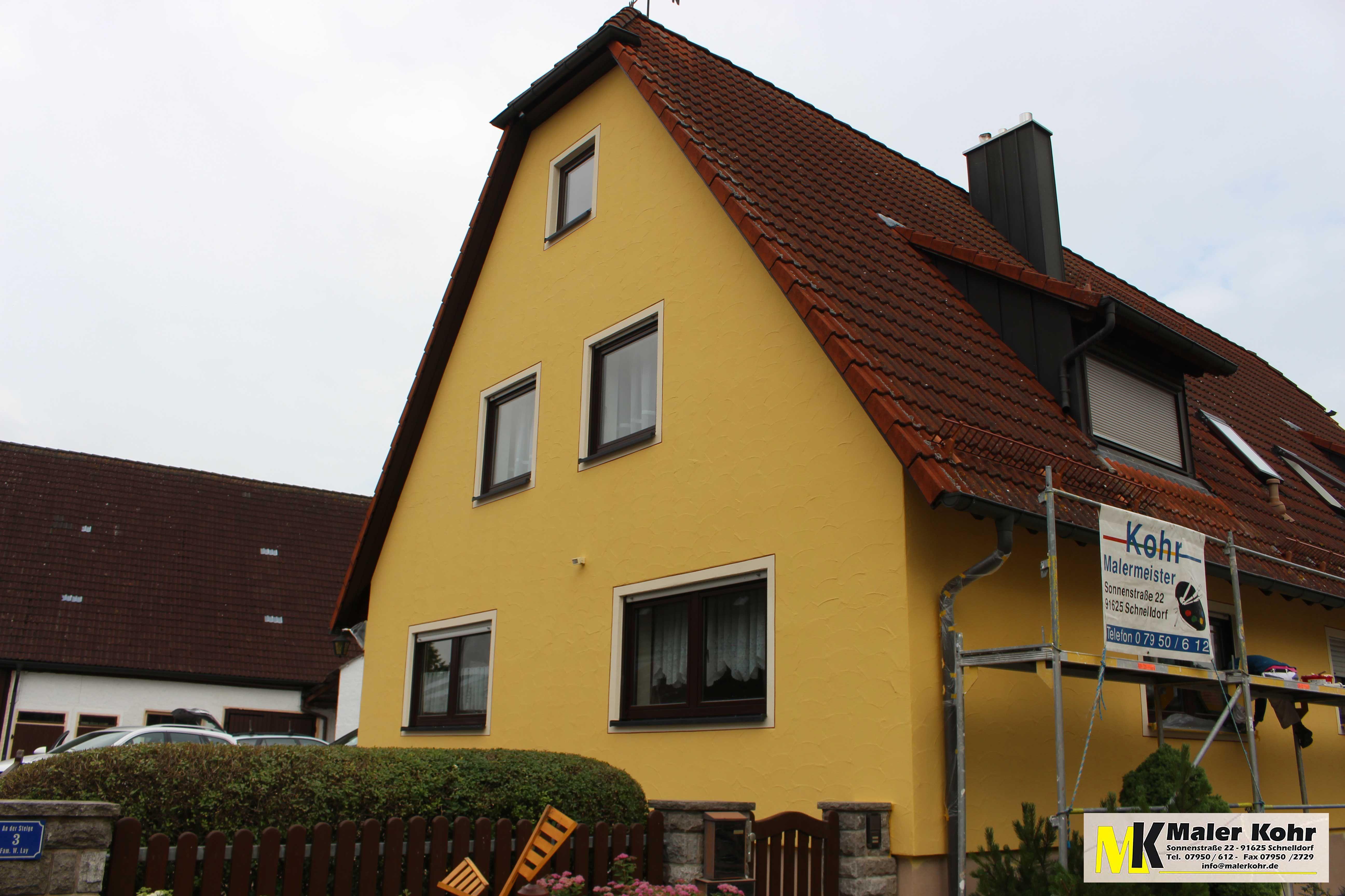 Fassade Gelb fassade in gelb fassaden und aktuelle objekte