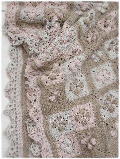 Nein....ich hab inzwischen so viele Decken....ich mach eine Deckenschlacht *g*           Im Winter häkle ich ja noch lieber als im Sommer...