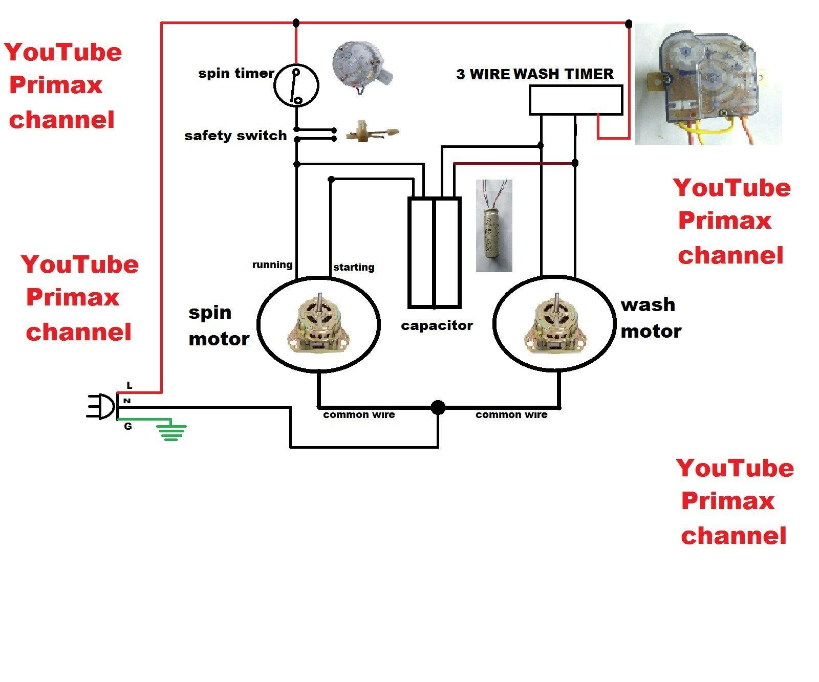 Edison System Wiring Diagram in 2020 Washing machine and