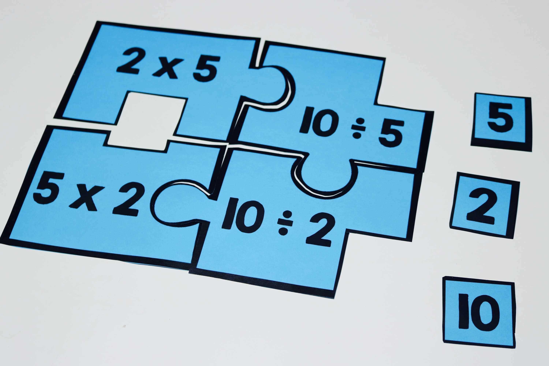 Third Grade Number Puzzles Bundle