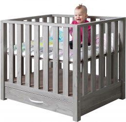 Beste TWF Box Robin Met Lade Donkergrijs | babyuitzet - Baby uitzet UB-46
