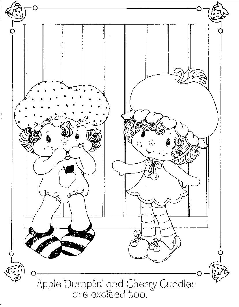 Strawberry Shortcake's Birthday Party Colouring Book