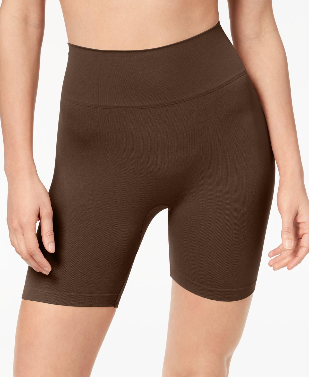 Tc Shapewear Firm Control Hi-waist Thigh Slimmer In Black