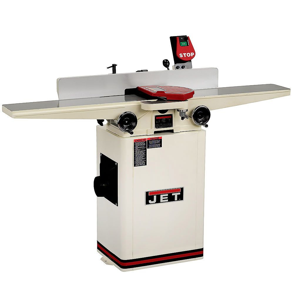Jet 6 Deluxe Jointer 1 Hp Helical Head From Craft Supplies Usa Any Serious Woodworker Knows That Square And Flat Stock Is The Key To Producing Fine