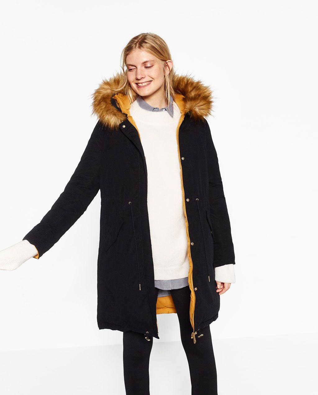 Outerwear Zara Reversible Anorak Coats Zara Y Mujer Women q44UwHnP