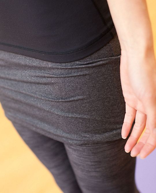 Lululemon Yin To You Crops (cropped Leggings With A Long