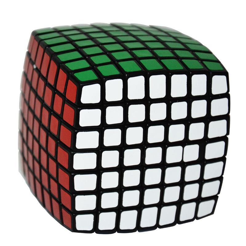 Lanlan Cube 7x7x7 Magic Cubes 7Layers Block Puzzle Speed ...
