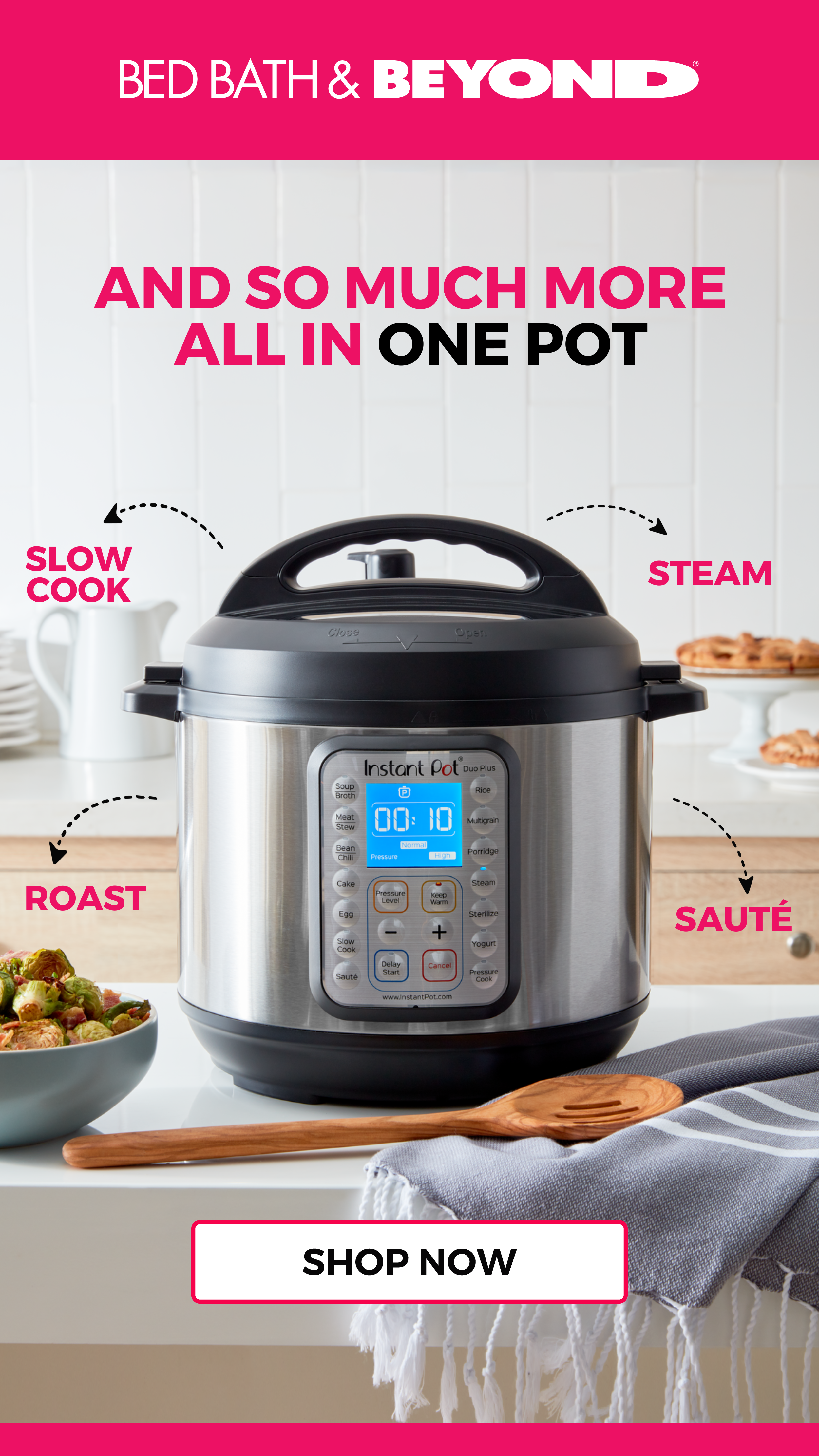 Bed Bath And Beyond Instant Pot Duo Plus