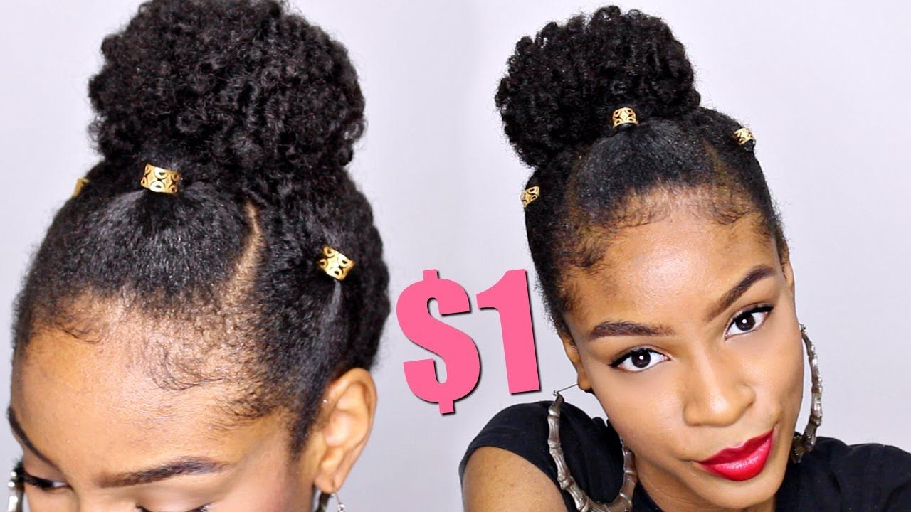 Pin By Rayann410 Natural Hairstyles On Can T Believe It But Hair Natural Hair Bun Styles Natural Hair Styles Bun Hairstyles