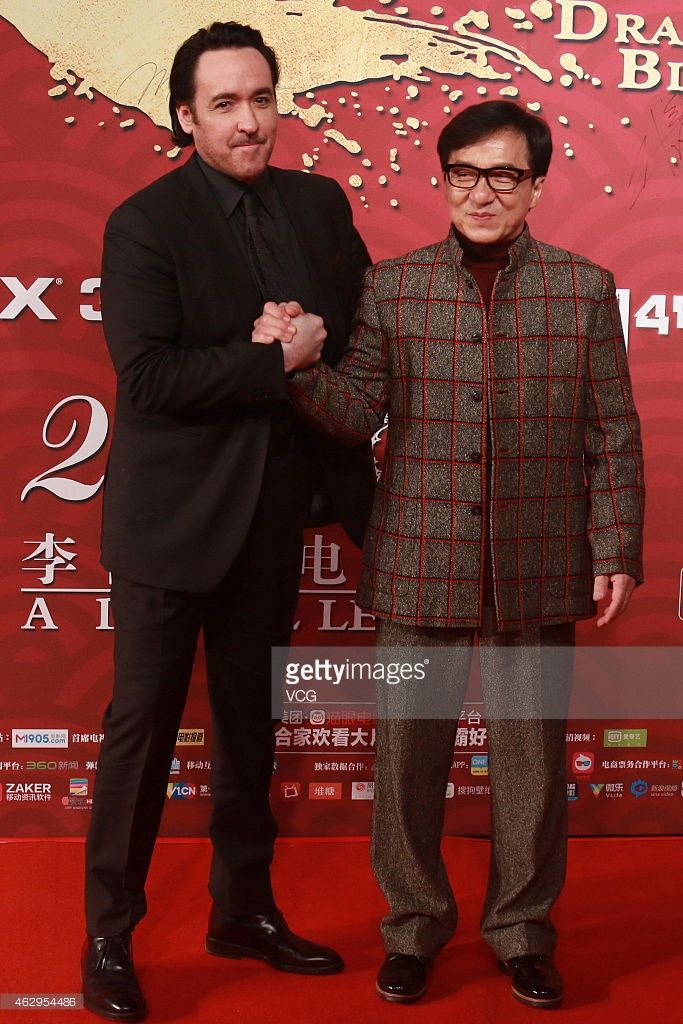 Jackie Chan And Actor John Paul Cusack Attends Premiere Of