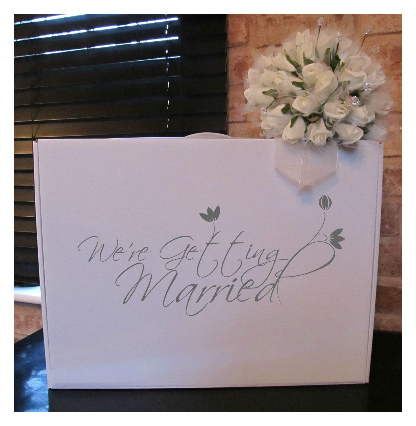Wedding Dress Travel Box We\'re getting married from http://www ...