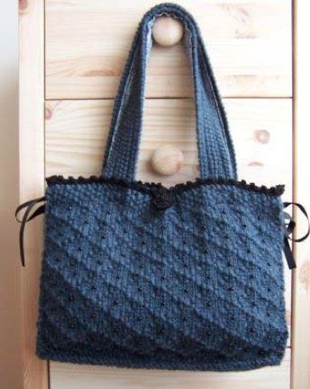 Free Knitting Pattern - Bags, Purses & Totes: Victoria Bag ...