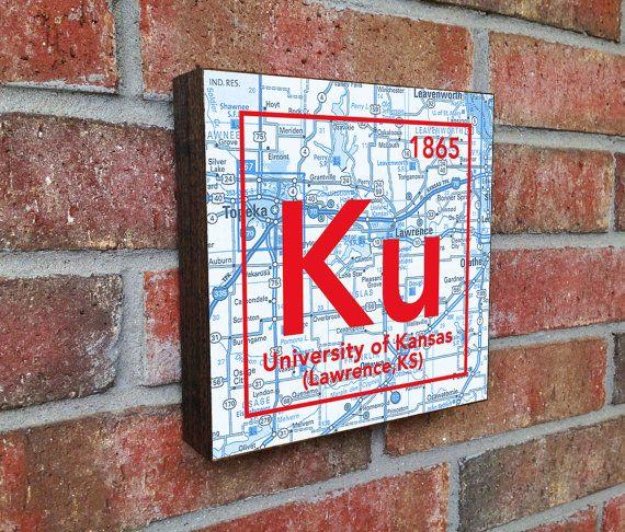 University of Kansas Jayhawks Lawrence Vintage by droppedpinshop