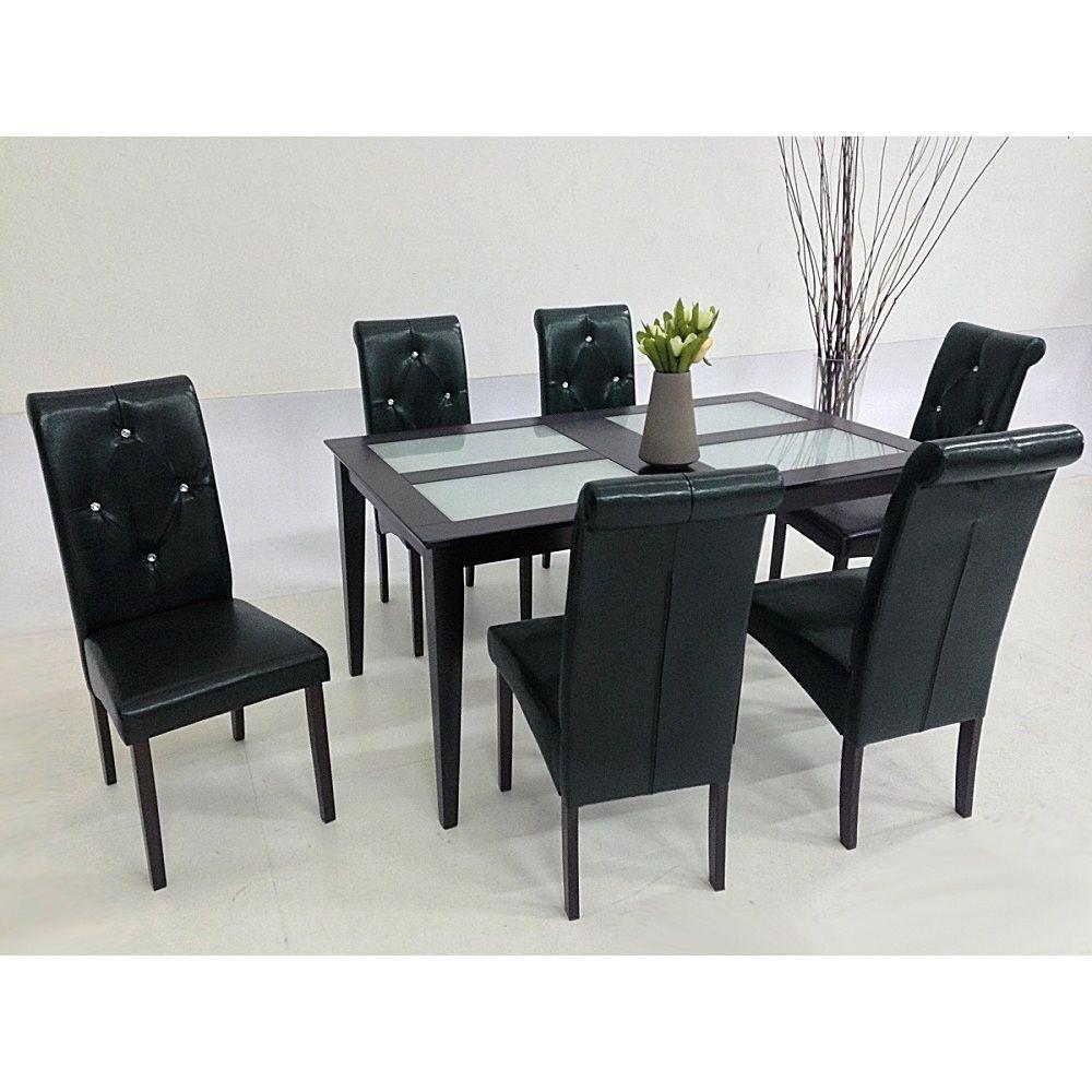 7 piece black dining room set 7 piece modern dining room sets black 7 piece black dining room set 7 piece modern dining room sets black set a dzzzfo