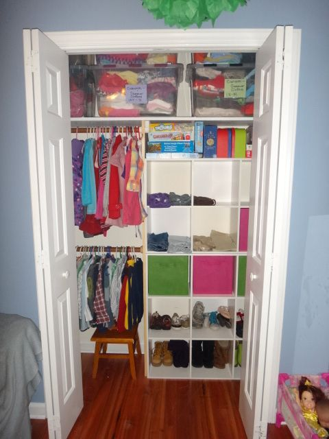 Light Storage, Step Stool, Kid Friendly Closet