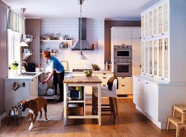 cmo organizar la zona de trabajo en la cocina - Cocinas Cuadradas