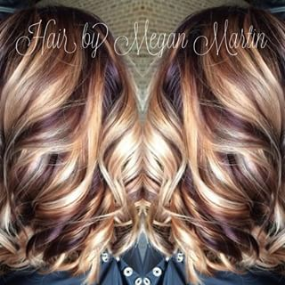 Blonde Hair With Cherry And Chocolate Lowlights Google