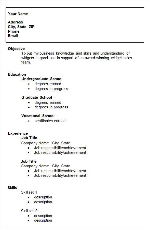 Resume Templates For College Students In 2020 Vorlagen Lebenslauf Lebenslaufvorlage Kostenlos Lebenslauf Beispiele