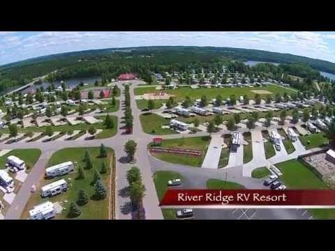 River Ridge RV Resort   In Stanwood, Michigan   Camping