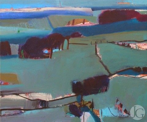 Landscape pictures by gerry dudgeon from the jerram gallery sherborne dorset contemporary british