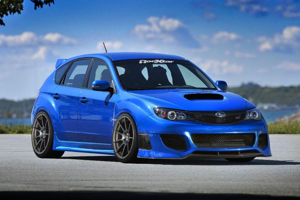 Custom Subaru Impreza Wrx Sti