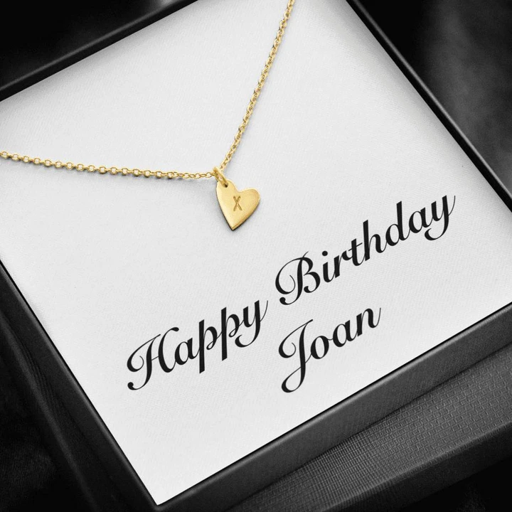 Happy Birthday Joan 18k Gold Finished Sterling Silver Sweetest Heart Unique Gifts Store In 2020 Happy Birthday Barbara Happy Birthday Happy Birthday Sharon