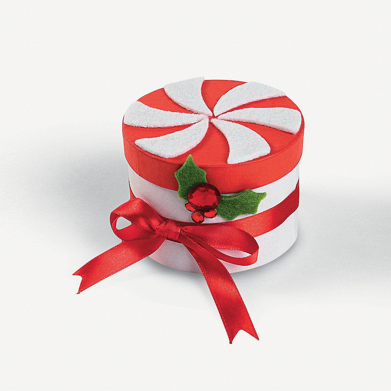 Peppermint Box Craft Kit - OrientalTrading.com