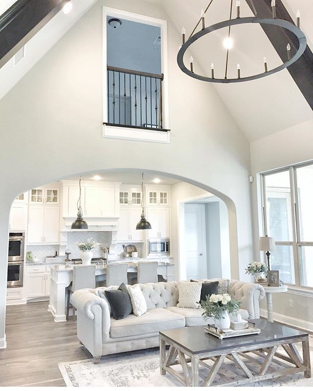 Marvelous Farmhouse Style Living Room Design Ideas 12 Image Is Part Of 75  Amazing Rustic Farmhouse Style Living Room Design Ideas Gallery, You Can  Read And ...