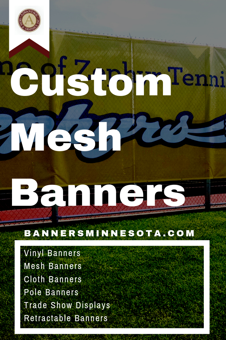 Mesh Banners Are Perfect For Outdoor Applications Learn How Easy It Is To Order Your Own Custom Mesh Banner From Banners With Images Mesh Banner Banner Retractable Banner