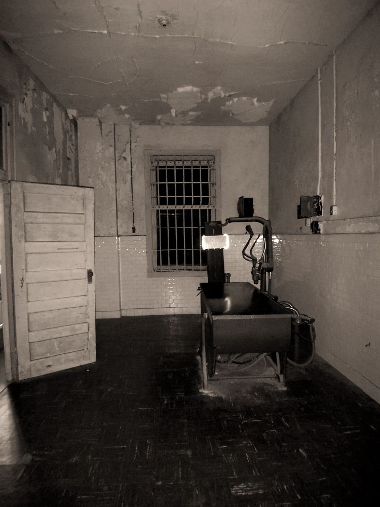 Alcatraz X Ray Room Alcatraz Island Prison Alcatraz Prison