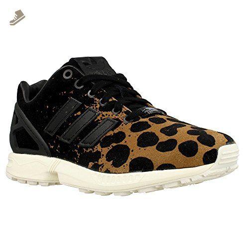 best service 158ca 5d536 Adidas - ZX Flux W - B35312 - Color: Black-Brown - Size: 8.5 ...