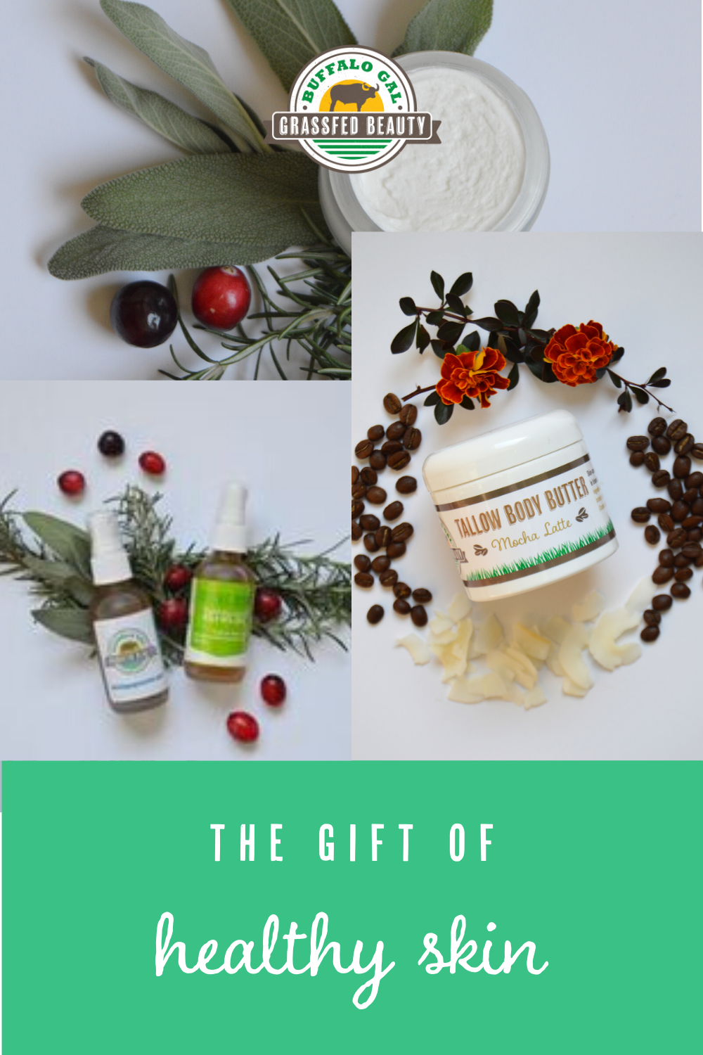 Give The Gift Of Healthy Glowing Skin This Holiday Season Paleo Skin Care Tallow Effective Skin Care Products