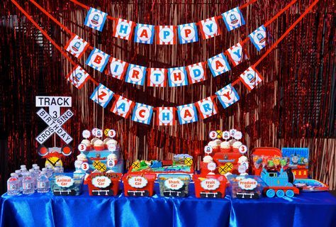 Amazing Thomas the Train kids birthday party by Cherry On Top