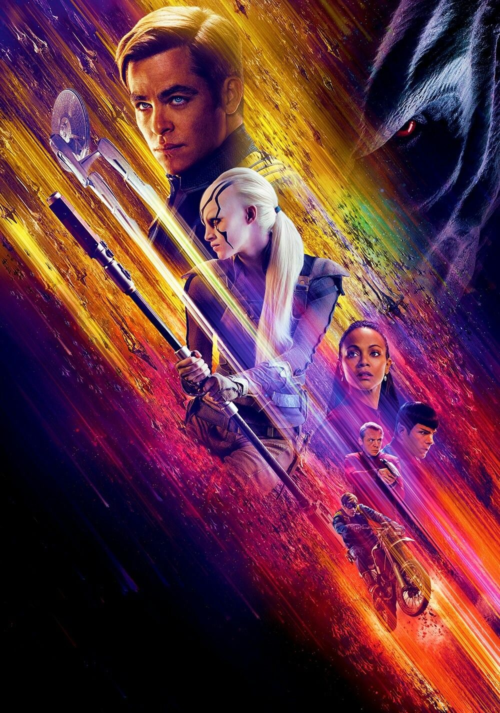 Star Trek Beyond Textless Movie Poster Star Trek Movie Posters And