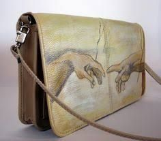 Image result for hand painted animals on purses