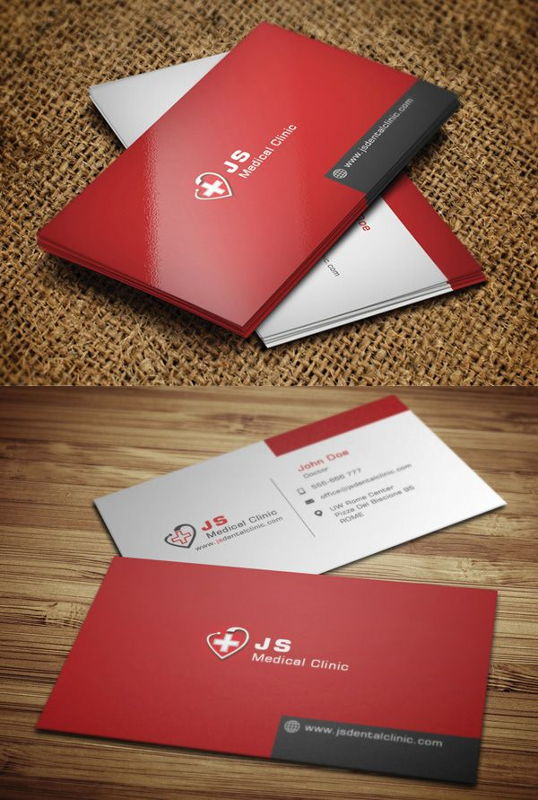 Medical Business Card #businesscards | Creative Cards | Pinterest ...