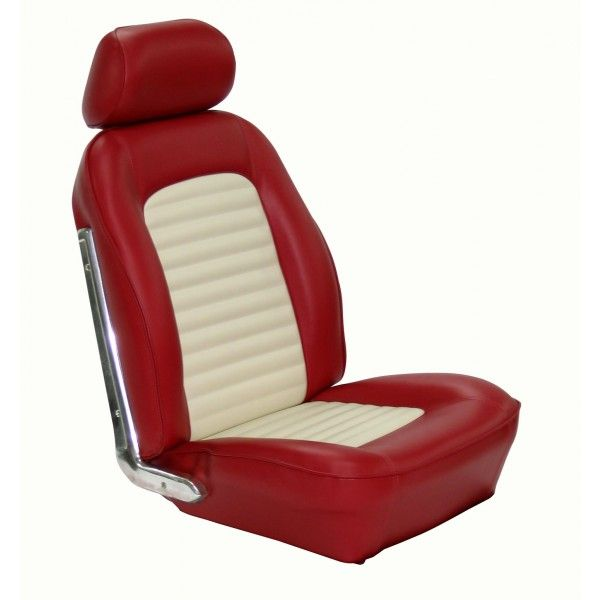 Classic mustang tmi sport seat upholstery free shipping for Garage seat 91