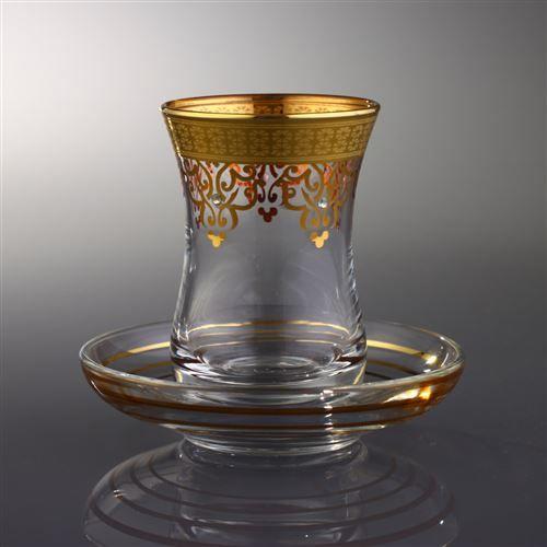 Ottoman Altın 12 Parça Çay Takımı