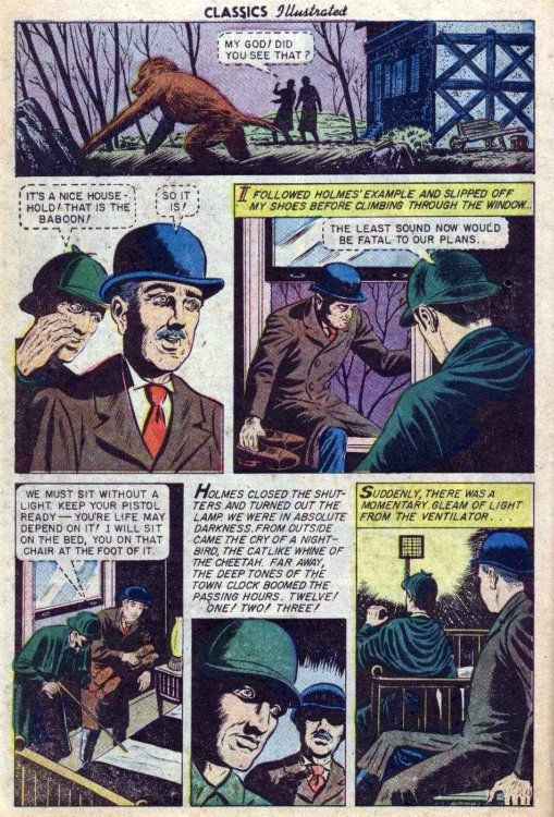 the speckled band by sherlock holmes summary The the adventures of sherlock holmes community note includes chapter-by- chapter summary and  the adventure of the speckled band.