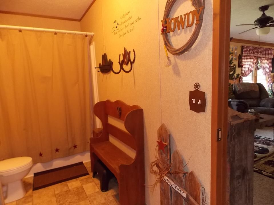 Primitive Country Manufactured Home Decorating Ideas Rustic